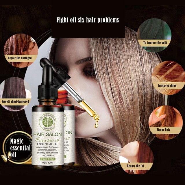 Powerful Hair Growth Essence Hair Repair Treatment Liquid Regrowth Essential Oil Serum Preventing Hair Loss Fast Restoratio 2