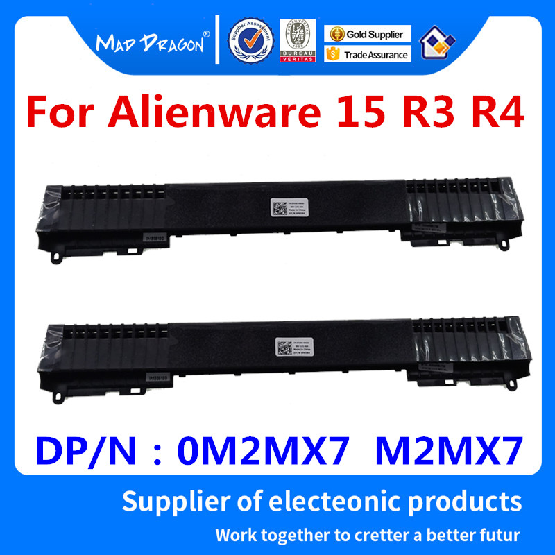 Dell Alienware 15 R3 Laptop Hinges Cover 0M2MX7 M2MX7 Air Outlet AP1JM000400 jac