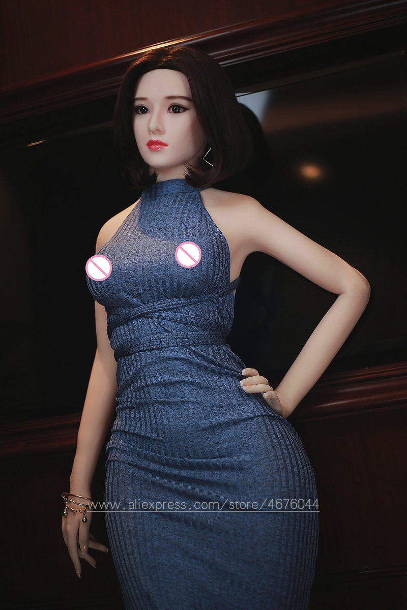 Image 3 - 145cm Real Silicone Sex Dolls Robot Japanese Anime Full Oral Love Doll Realistic Adult for Men Toys Big Breast Sexy Mini Vagina-in Sex Dolls from Beauty & Health