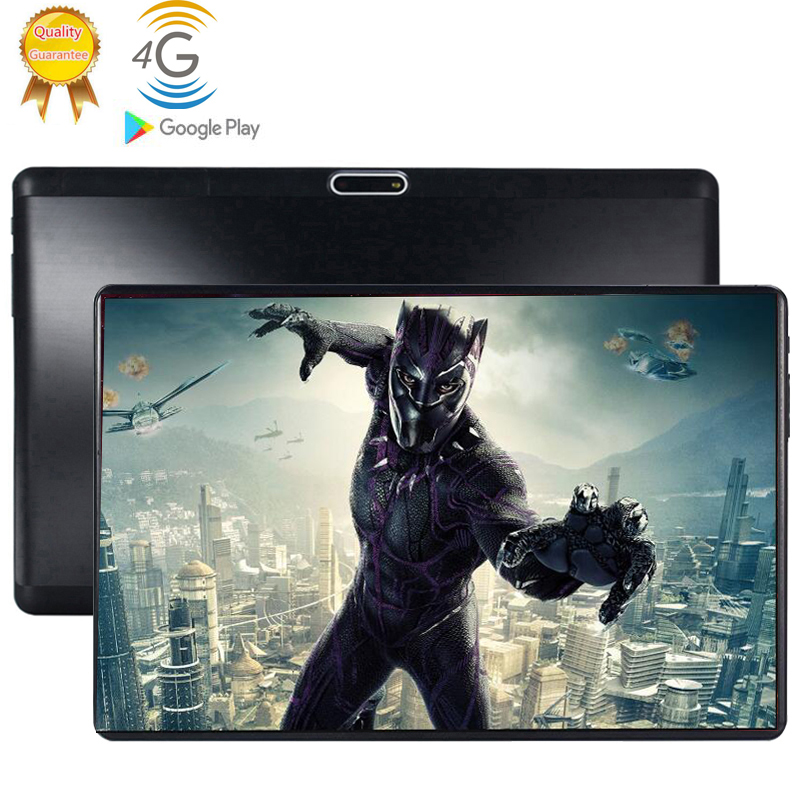 2020 Android 9.0 2.5D Screen Tablet Pcs 10.1 Inch 4G LTE FDD Tablet PC 8 Octa Core RAM 6GB ROM 128GB Tablets Kids Tablet FM GPS