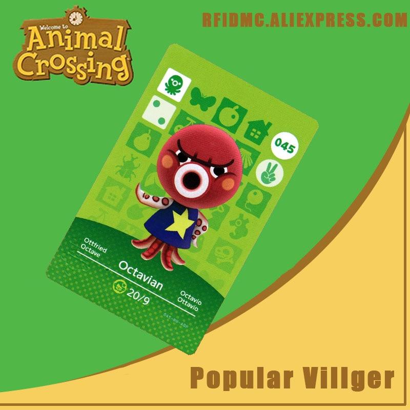 045 Octavian Animal Crossing Card Amiibo For New Horizons
