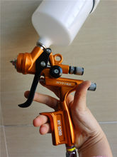 Pintura pistola ponta 1.3mm hvlp rp airbrush edição limitada hy5200 profissional ferramentas de reparo do carro hyfire