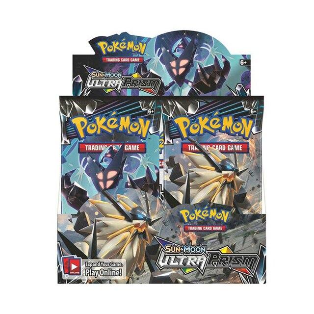 324Pcs//Box TOMY Pokemon Cards Sun /& Moon Celestial Storm Trading Card Game