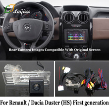 Rear View Camera For Renault Dacia Duster HS First Generation Facelift 2014~2020 / Car Reverse Camera Kits Compatible OEM Screen