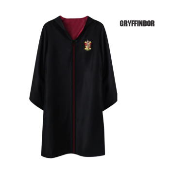 Potter Adult Kids Gryffindor Cloak Cosplay Costumes Shirt Ravenclaw Slytherin Robe  Costume Hermione School Uniform