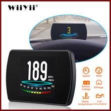 Wiiyii p12 Автомобильный дисплей с головкой вверх автомобильный