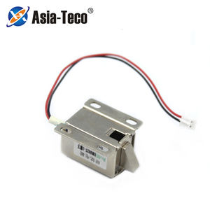 Electric control lock 12V 0.4A Lockers electromagnetic lock Release Assembly Solenoid Access Control lock(China)