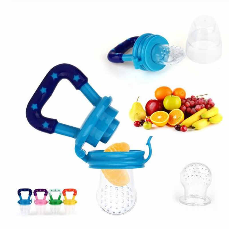 Baby fresh food pacifier Baby pacifier feeder fruit and vegetable music silicone pacifier fruit Baby bean device
