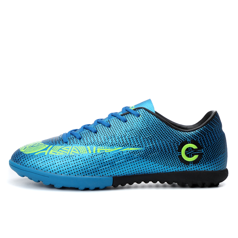 Men Large Size FG/TF Soccer Shoes Football Cleats Soccer Ankle Boots Teenager Training Sneakers Kids Indoor Sports Shoes Unisex 9