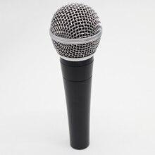 גבוהה באיכות גרסה SM58 מקצועי Cardioid דינמי כף יד קריוקי sm 58 Wired מיקרופון Microfone Microfono מייק מיקרופון