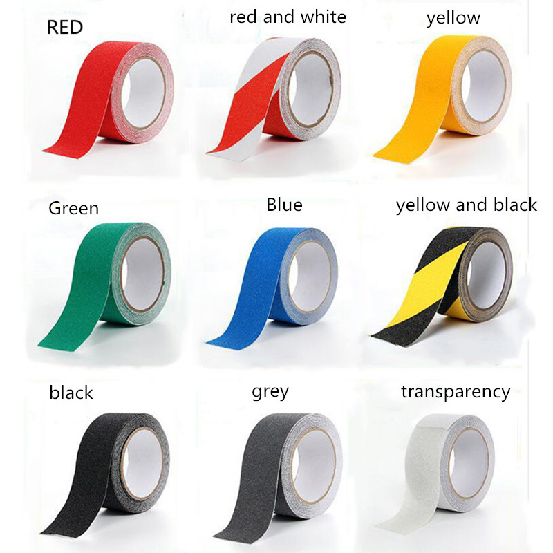 sticker tape band anti slip skid emergency frosted safety floor stair tread cove