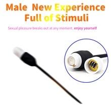 Urethral Vibrator Catheter Penis Plug Sex Toys for Men