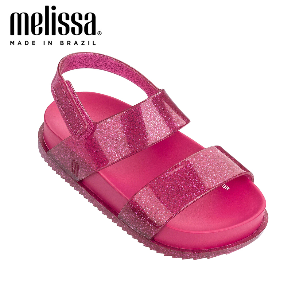 Mini Melissa Girls Bow  Jelly Shoes Cosmic Sandal + Princess Boy Sandals 2020 Bow Shoes Melissa Sandals Kids Non-slip Toddler