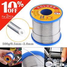 60/40 B 1 500g 0.5mm 2.0mm No clean Rosin Core Solder Wires with 2.0% Flux and Low Melting Point for Electric Soldering Iron