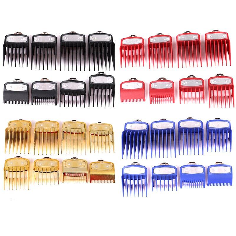8 Sizes Metal Hair Clipper Attachment Comb Replacement Hair Clipper Guard Hair Cutting Hair Clipper Limit Guide Comb 8 Pcs/set