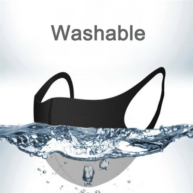 10pcs Washable Face Masks anti dust mask Activated carbon filter Windproof Mouth-muffle bacteria proof Flu Face masks Care 3