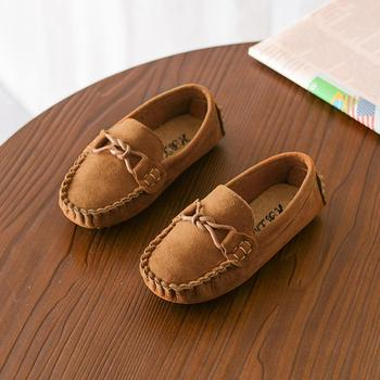 Children Boys Girls Loafers Kids Shoes Solid Color Soft Bottom Breathable Casual Shoes cowboy style cool Shoes Kids Zapatillas