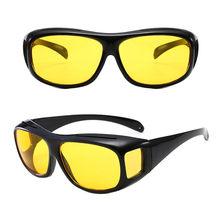Gafas de sol de visión nocturna reflejo para coche, lentes de conducción nocturna, protección UV, 1 Uds.