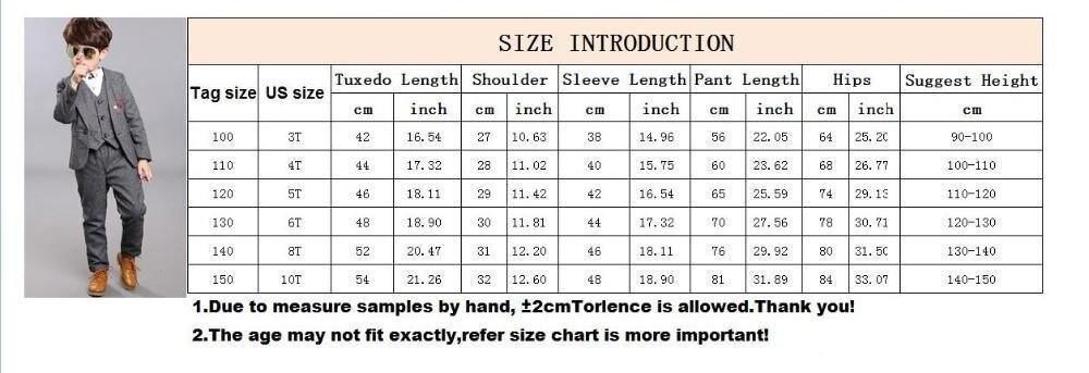 boysuit size