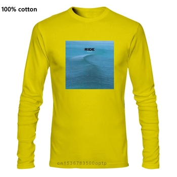 RIDE FASCIA Shoegaze Slowdive MBV INDIE UNISEX T-SHIRT TUTTE Le Taglie Colori Novelty Cool Tops Men Long sleeve T Shirt image