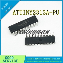 20 pçs/lote ATTINY2313A PU ATTINY2313 8 ATME Microcontrolador 8 bit ATTINY 2313 DIP20 chip Novo