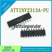 20 unids/lote ATTINY2313A PU ATTINY2313 ATTINY 2313 DIP20 ATME 8 microcontrolador ARM chip nuevo