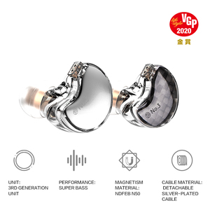 Image 2 - TFZ No.3 In Ear Earphones,2DD+VGP Award winning Unit  HiFi Bass Noise Cancelling Earbuds