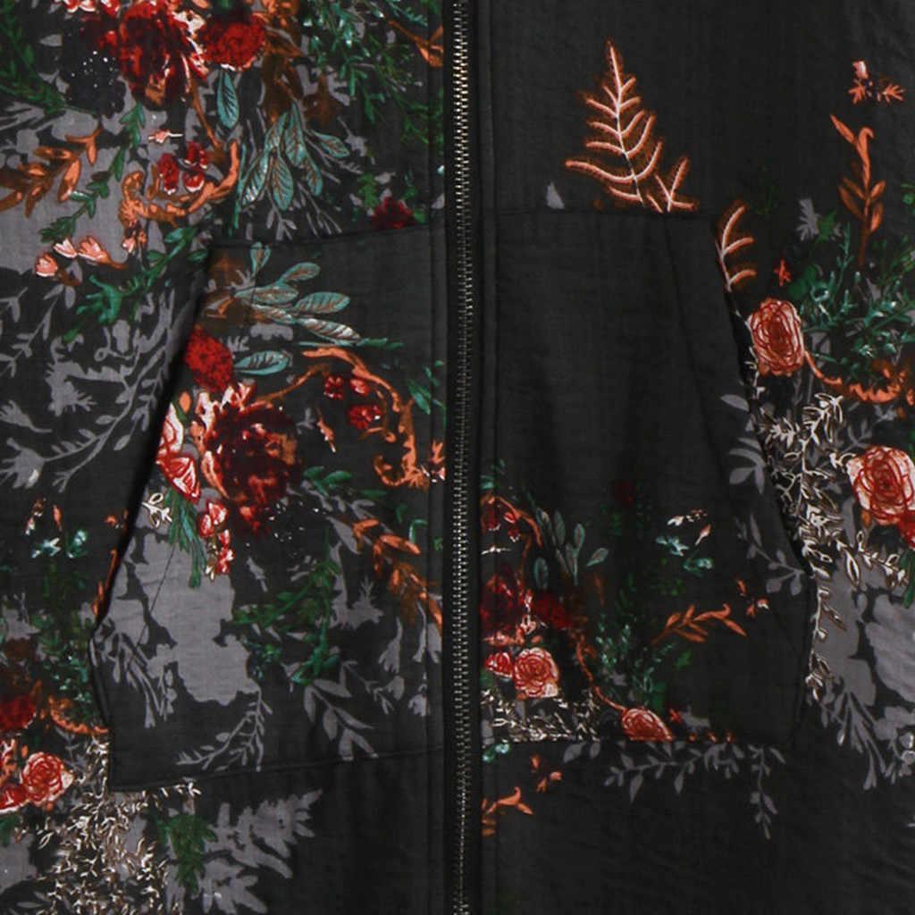 2019 가을 겨울 자켓 여성 파카 웜 자켓 긴 소매 코트면 리넨 털이 모피 지퍼 파커 스 후드 아웃웨어 # J30
