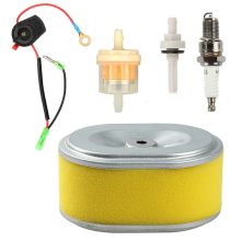 купить Top Selling Air Fuel Filter Set For Honda GX110 GX120 GX160 GX140 GX200 5.5 & 6.5HP More Durable по цене 452.01 рублей