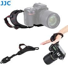 JJC – dragonne de luxe pour Nikon D850 D750 D780 D500 D7500 D7200 D3500 D5500 Canon Fuji DSLR, plaque à dégagement rapide