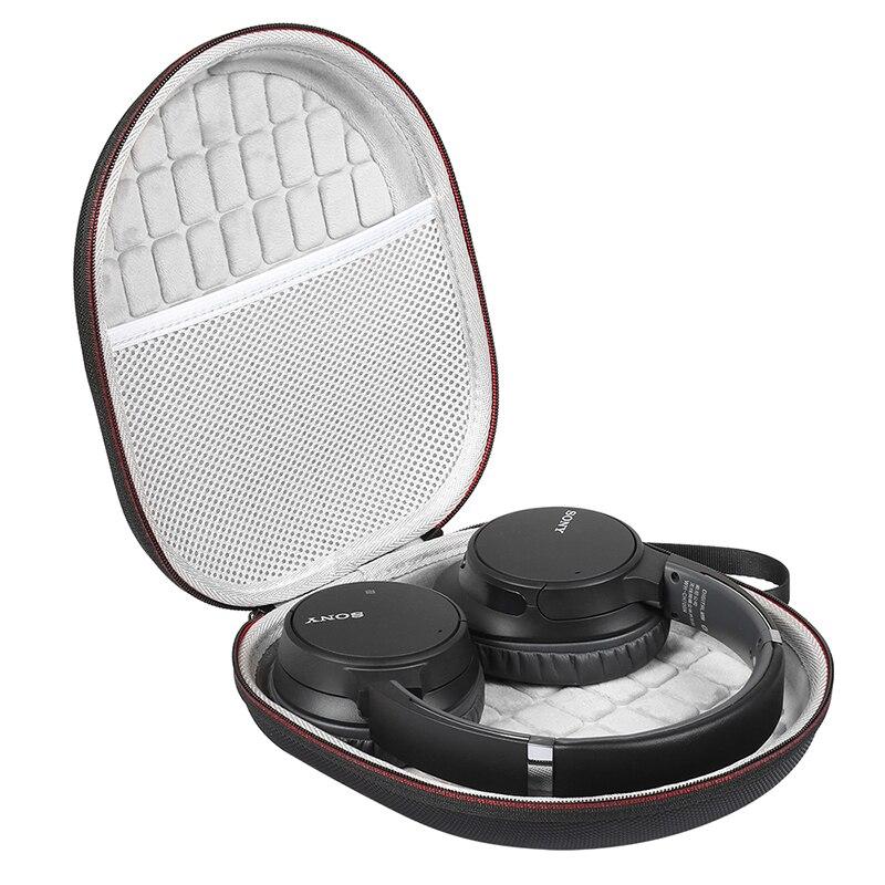 Mais novo duro eva caso protetor para sony WH-CH700N/sony WH-CH710N cancelamento de ruído sem fio extra baixo fones de ouvido