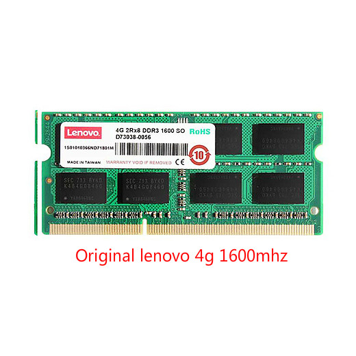 Original lenovo For Lenovo ThinkPad Notebook <font><b>4G</b></font> memory <font><b>DDR3</b></font> 1600MHz 1600MHz SODIMM 4GB Memory image