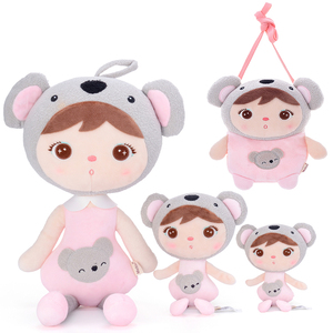 Metoo pluszowe zabawki Keppel lalki Koala pluszowe torby pluszowe zwierzaki prezent dla dziecka-dziewczynki dla dziecka 4 sztuki zestaw piękne lalki