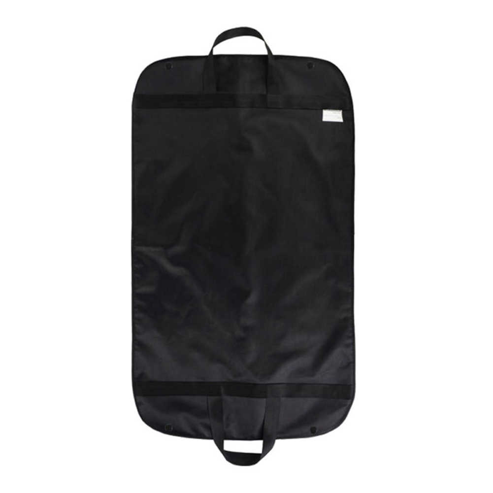 New Folded Anti-dust Clothes Cover Garment Bag 60*100cm Suit Dress Storage Protector Black Travel Carrier Drop Shipping #2
