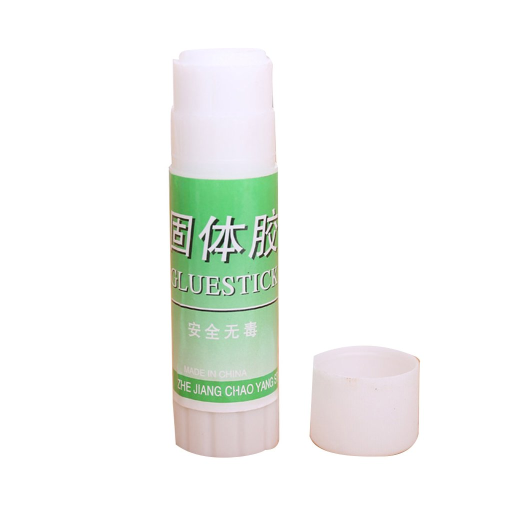 23g White Solid Glue Sticks Cute School Supplies High Viscosity Solid Strong Adhesive Students DIY Glue