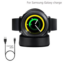 Smart Watch Nirkabel Charger untuk Samsung Galaxy Menonton 46 Mm 42 M Charger Pengisian Base untuk Galaxy Gear S3 S2 ticwatch Moto 360 1 2(China)