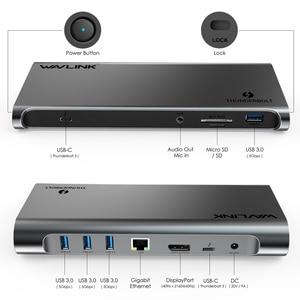 Image 3 - [Intel Zertifiziert] Thunderbolt 3 USB C 4K Display Docking Station Gigabit Ethernet Power Lieferung 85W Für PC Laptop Fenster Mac OS