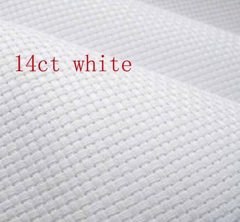 9TH 14CT 刺繍アイーダ布生地クロスステッチアイーダ布生地アイーダプラスチック布のためのハンドメイド刺繍 14.8*20 センチメートル