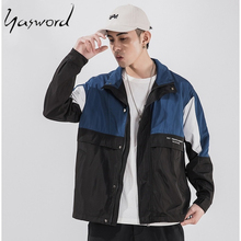 Yasword Men Casual Jackets Windbreaker Coats Sportswear Autumn Winter Outwear Clothes Quality Clothing