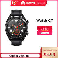 In Stock Global Version HUAWEI Watch GT Smart Watch 1.39'' AMOLED Screen 14 Days Battery Life 5ATM Waterproof Heart Rate Tracker