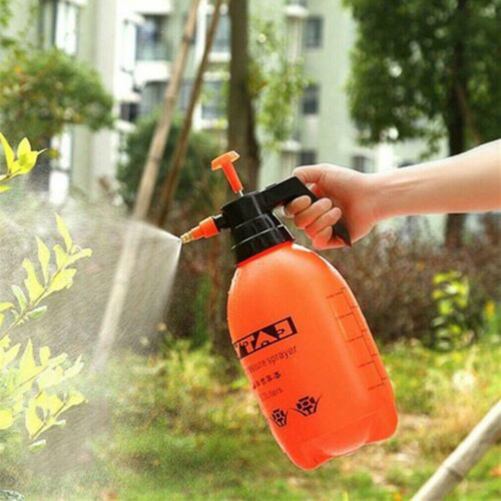 Ev ve Bahçe'ten Su Kutuları'de 2L/3L taşınabilir kimyasal püskürtücü pompası basınçlı su tenekeleri bahçe su püskürtme şişesi el title=