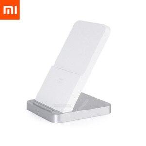 Image 1 - מקורי Xiaomi אנכי אוויר מקורר אלחוטי מטען 30W מקסימום 19V 1.6a לxiaomi Mi9 לערבב 2S לערבב 3 צ י EPP10W עבור iPhone XS XR XS