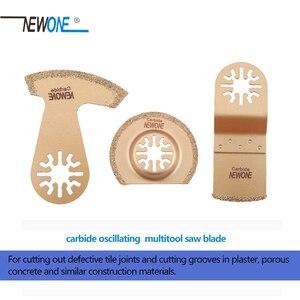 Image 4 - Newoneคาร์ไบด์Segment Oscillating Multi เครื่องมืออุปกรณ์เสริมสำหรับเครื่องมือเช่นFein Multimaster,Dremel,ตัดร่อง