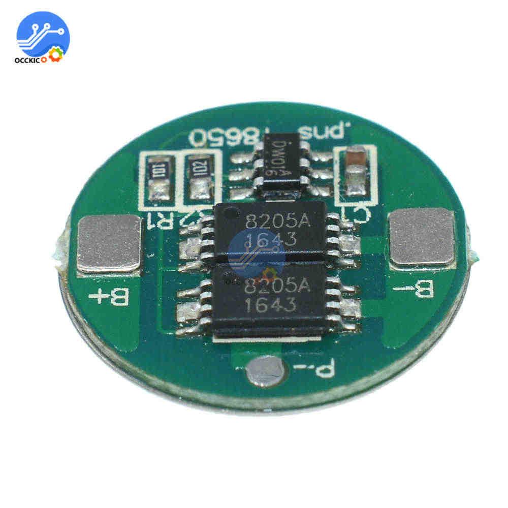 1 Pcs BMS Dual MOS 18650 Lithium Baterai Papan 18650 Battery Balancer Charger Aksesoris Atmega