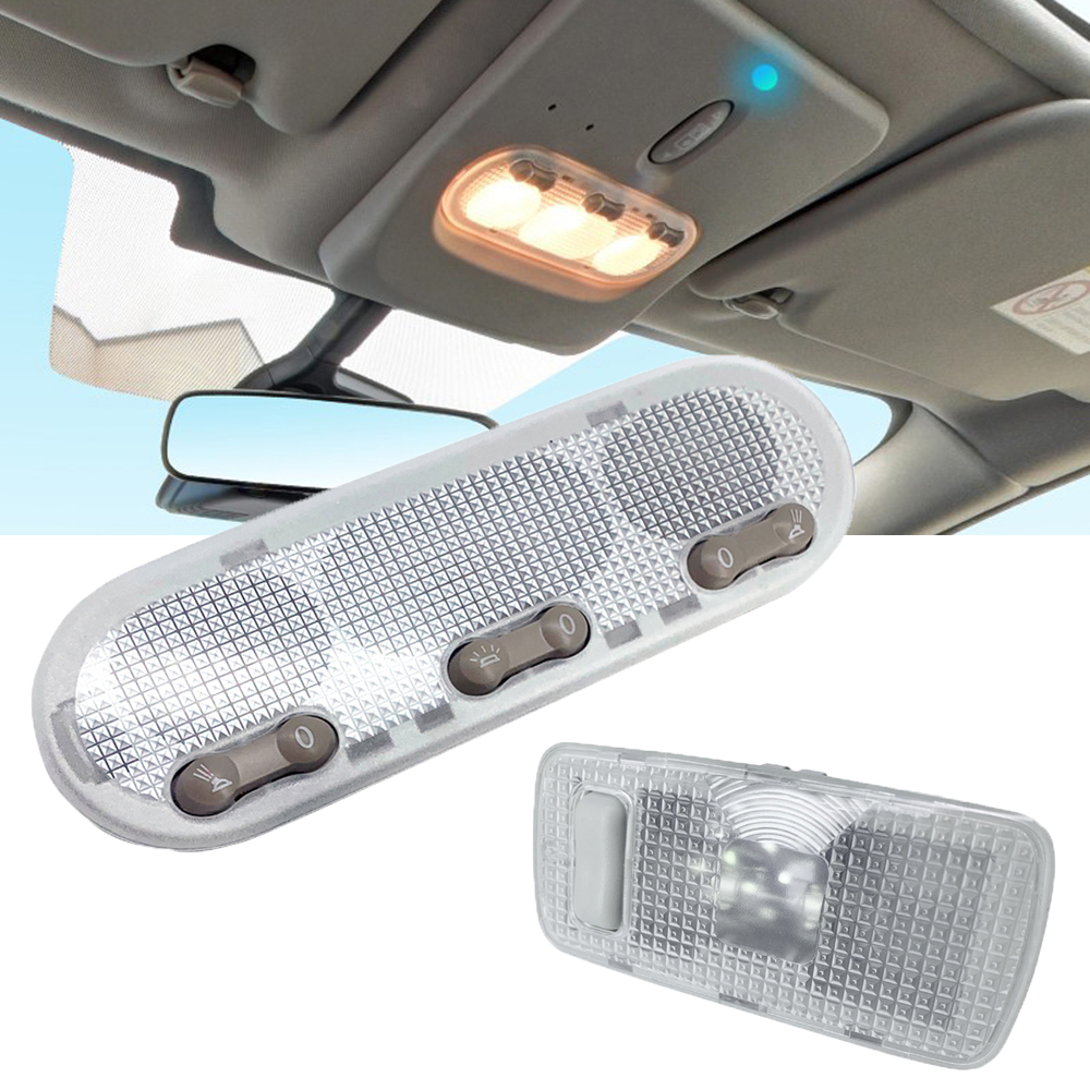 1-Botton 3-Botton Rear Light Car Interior Lamp Dome Reading Light Ceiling Lamp For Nissan Qashqai J10 08-17 For Sunny For March