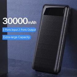 YKZ מיני כוח בנק 30000 mAh בנק נייד טעינה Poverbank טלפון נייד חיצוני סוללה מטען Powerbank עבור iPhone Xiaomi