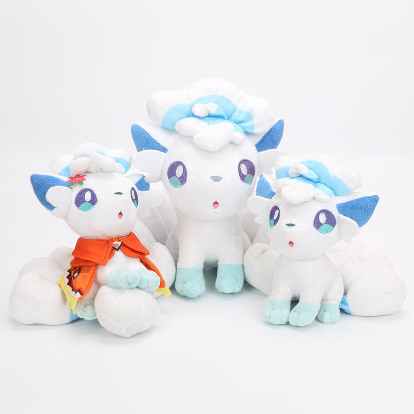 20/25cm Doll Alola Vulpix Plush Toys Stuffed Dolls Peluche Doll Gifts For Children Free Shipping