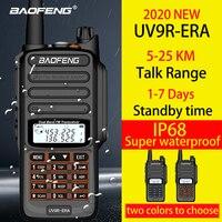 Baofeng IP68 waterproof walkie talkie long range 25km baofeng uv 9r ERA plus cb ham radio hf transceiver UHF VHF radio station