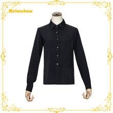 Melonshow японская Лолита Стиль блузка размера плюс черные и