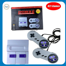 8Bit SUPER MINI HDMI Game For SNES SFC NES Classic Video Game Console TV Game Player Built-in 821 Games With Dual Gamepads